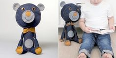 These insanely cool toys are the work of Acne JR, a Swedish toy company based in Stockholm.