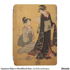 Japanese Ukiyo-e Woodblock Print Series One iPad Air Cover