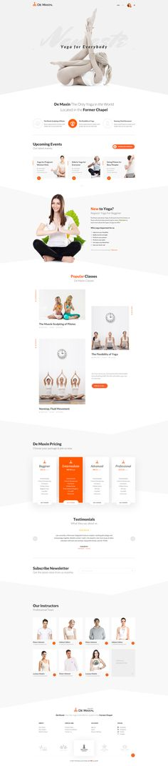 De Maxin is designed specifically for an yoga class with membership plan and class schedule. Comes with 3 homepage version and fundamental class pages, event pages, trainer pages, the theme is suitable for any yoga class or other kind of health and sport …