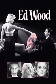 Ed Wood (1994) EEUU. Dir: Tim Burton. Sátira. Drama. Biográfico. Cine dentro del cine. Películas de culto - DVD CINE 1114