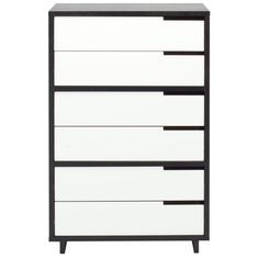 Blu dot Modu-Licious dresser - available in oak/walnut/charcoal frame with powder coat metal drawers. $1999