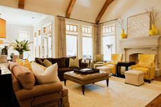 The Reynolds Family Room | New American Luxury