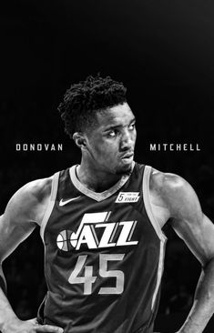 Jazz Basketball, Basketball Boyfriend, Donovan Mitchell, Funny Slogans, Utah Jazz, Sports Equipment, My Boyfriend, How To Look Pretty, Coraline