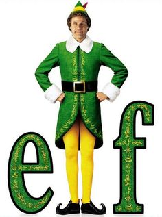 Buddy the Elf my family knows every line and we watch it every year yeap, watching will ferrel as buddy the elf is now a tradition.. hahaha