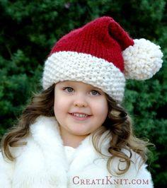 The Santa Cutie Hat- Free pattern!