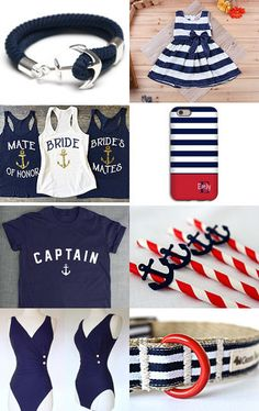 Nautical Chic by Lena on Etsy--Pinned with TreasuryPin.com
