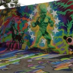 Wynwood Art District. Downtown Miami, FL