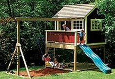 I always wanted a tree house