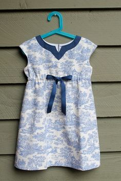 https://flic.kr/p/oYKF6z   Oliver and S Roller Skate Dress   Size 4, lengthened to size 5, of decorating fabric remnant with shot cotton facing for my granddaughter