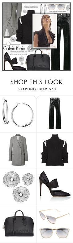 """FULL CALVIN KLEIN"" by celine-diaz-1 ❤ liked on Polyvore featuring Calvin Klein, Calvin Klein 205W39NYC, Improvements and DKNY"