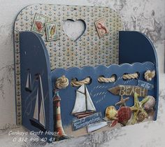 news – Her Telden News Decoupage Box, Decoupage Vintage, Home Crafts, Diy And Crafts, Deco Marine, Altered Cigar Boxes, Pallet Boxes, Cement Art, Weekend Crafts
