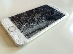 Destroyed iPhone