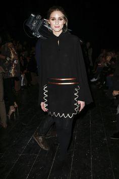 Olivia Palermo - Valentino Fall 2016 Fashion Show Front Row - March 8, 2016 #pfw
