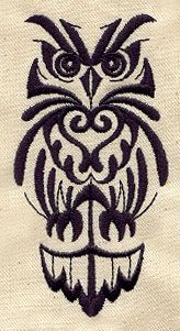 Embroidery Designs at Urban Threads - Retro Owl 2