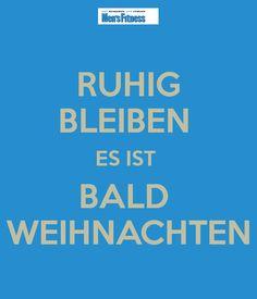 Ruhig Blieben :)