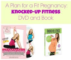Knocked up? Stay fit with these workout  DVDs and this book from our fit mama friend Erica Ziel!