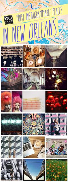 Most Instagrammable Places in NOLA!