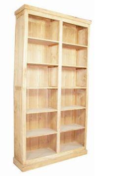 Grote boekenkast landelijke stijl | landelijkinrichten.nl | Landelijk Inrichten