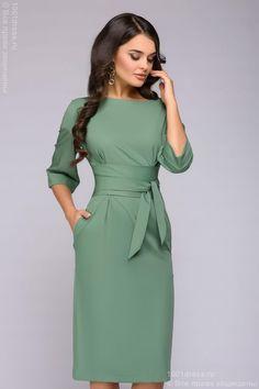 Платье светло-фисташковое 1001dress