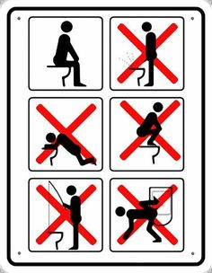 Image result for no fishing in toilet sign