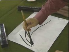 ▶ Orchid Chinese Painting for Beginners on Xuan Paper 1/4 - YouTube
