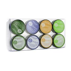 Assorted Mini Kit: 4x Shave Cream + 1x After Shave Cream + 3x After Shave Soother - 8pcs