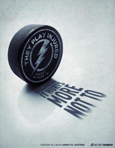 Tampa Bay Lightning: #ad #print
