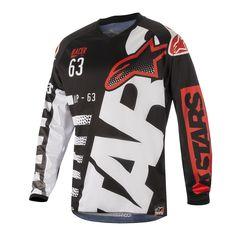 Alpinestars Motorcycle 2018 Racer Tactical MX Jersey Black Pink M UK Seller