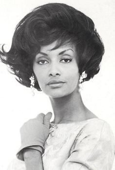 The most photographed African-American model of the Fifties & Sixties: Helen Williams.