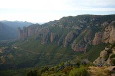 Desde el Mirador de los Buitres (Sarsamarcuello, Huesca)
