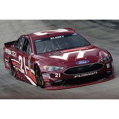 Ryan Blaney Action Racing 2016 #21 Motorcraft/Virginia Tech 1:24 NASCAR Sprint Cup Series Platinum Die-Cast Ford Fusion