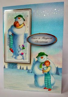 Clairebears x - Snowman and Snowdog Paper kit.