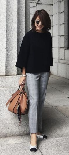 47 Classy Business Outfits To Copy Right Now – Business professional outfits for interview Fall Business Attire, Classy Business Outfits, Business Professional Outfits, Business Mode, Best Casual Outfits, Classy Outfits, Fall Outfits, Chic Outfits, Sweater Outfits