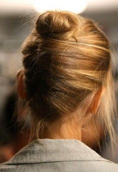 cool updo that doesn't look too fussy