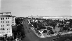St. Pete/St. Pete Beach.  North Beach Drive to the Vinoy Hotel. Includes St. Petersburg Art Club and part of the Soreno Hotel - St. Petersburg Florida early 1930's