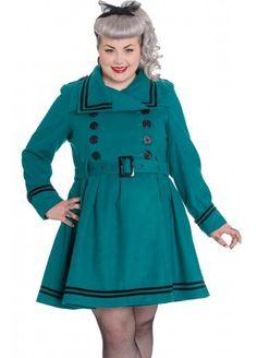 Hell Bunny Millie Plus Coat, £78.99