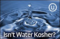 Kosher symbols are everywhere: on sugar, coffee... even spring water. Do these products really need kosher supervision?
