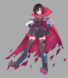 Ruby Rose Volume 4 outfit rwby