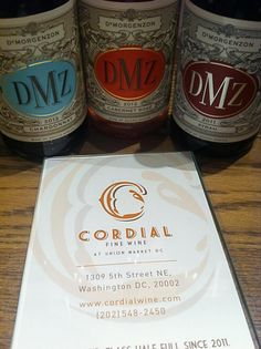 DMZ lineup from De Morgenzon Union Market Dc, South African Wine, Fine Wine, Lineup, Grapefruit, Rose, Pink, Roses
