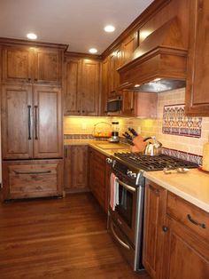 Rustic Alder Wood Kitchen Cabinet Designs Glen Dynasty Rustic Alder Kitchen By Signature Kitchen