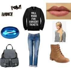 """""""Sylvie's winter camp outfit"""" by alyse-brate on Polyvore - From my Percy Jackson head cannon"""