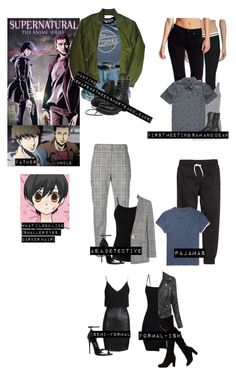 """Me in """"Supernatural: the animation"""" Fandom Outfits, Movie Outfits, Cute Outfits, Girls Fashion Clothes, Girl Fashion, Fashion Outfits, Supernatural Inspired Outfits, Engagement Photo Outfits, Engagement Photos"""