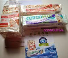 donneinpink- fai da te e consigli per gli acquisti: Novità Cotton Plus 2 in 1- Il cotone struccante co...