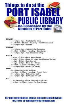Port Isabel To-Do! portisabelchamber.com