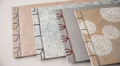 "Feel the warmth ""Japanese-style book binding"" binding.  Introducing a nice items…"
