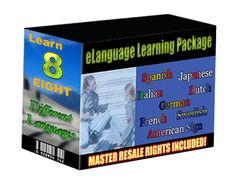 E-LANGUAGE LEARNING PACKAGE.