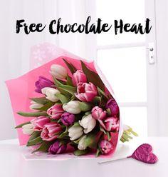 Pink Tulip Bouquet - £26.99