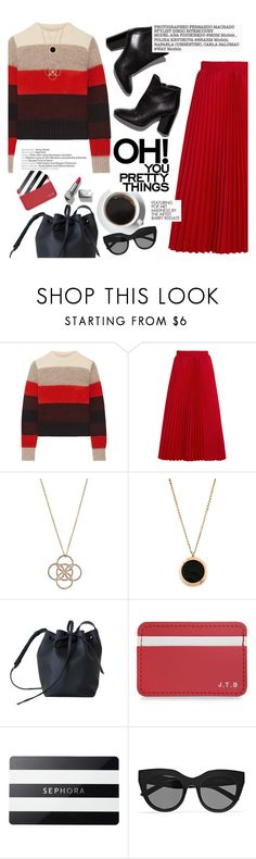 """""""OH! you pretty things"""" by thepommier ❤ liked on Polyvore featuring rag & bone, Balenciaga, Sephora Collection, Le Specs, Pierre Hardy, Louis Vuitton and Burberry"""