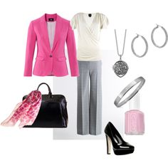 Oh my god... SO cute! I will be wearing this for my FIRST real job interview :) GO PiNK! <3