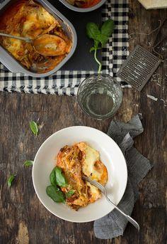 """Receta 262: Canelones con un resto de ragout » 1080 Fotos de cocina  - proyecto basado en el libro """"1080 recetas de cocina"""", de Simone Ortega. http://www.alianzaeditorial.es/minisites/1080/index.html"""